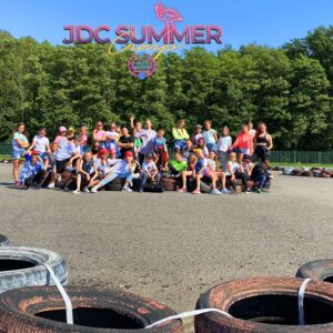 JDC SUMMER CAMP KIDS Ja i KINIA logo better